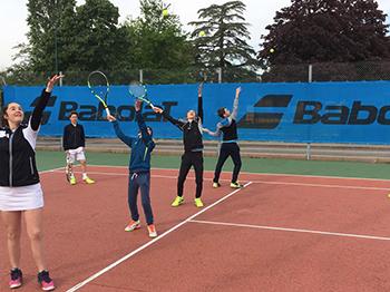 école de tennis