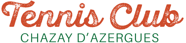 logo tennis club chazay d'azergues